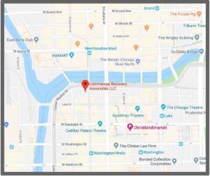 Directions - Commercial Recovery Associates   Chicago IL